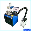 Hot Sale 50W Fiber Laser Marking Machine for Metal with Rotary Axis/3D Platform