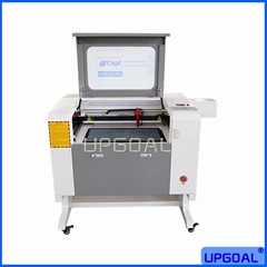 Small  60W Artware Co2 Laser Engraving Cutting Machine with Rotary Axis 6040