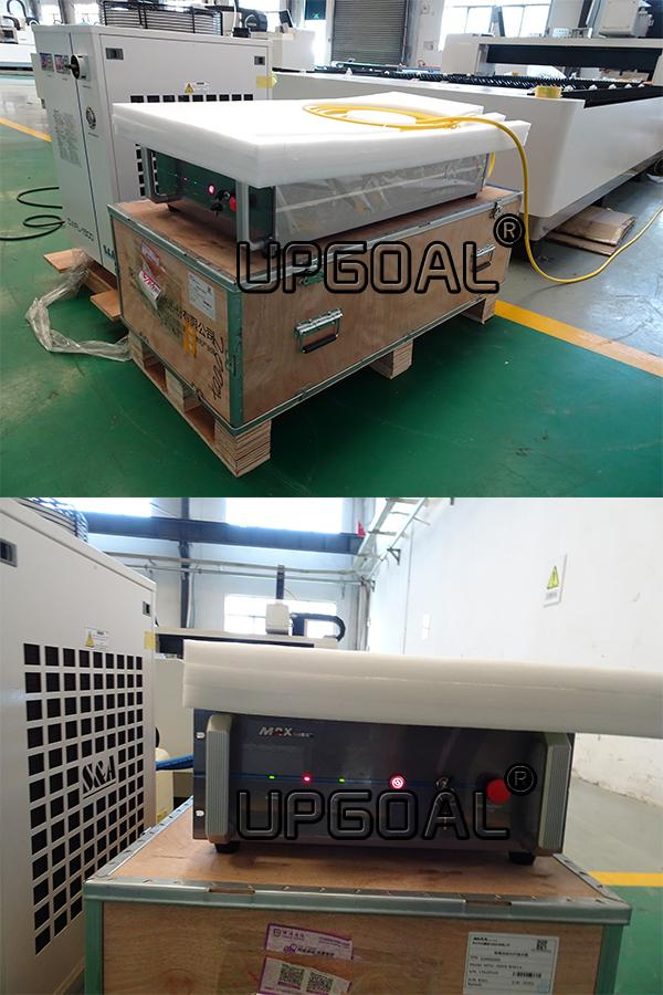 Adopted stable MAX brand 1000W/1500W fiber laser source, photoelectric conversion rate is high, high beam quality, work life of more than 100,000 hours, no maintenance costs..