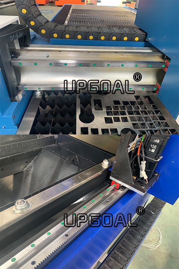 1000W/1500W Metal Fiber Laser Cutting Machine with RAYTools & CypCut Controller 14