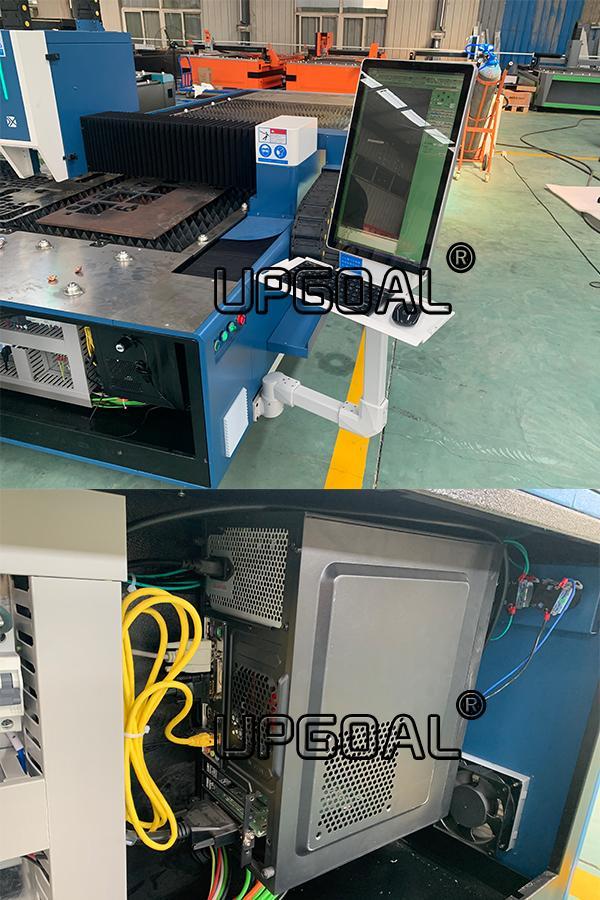 1000W/1500W Metal Fiber Laser Cutting Machine with RAYTools & CypCut Controller 15
