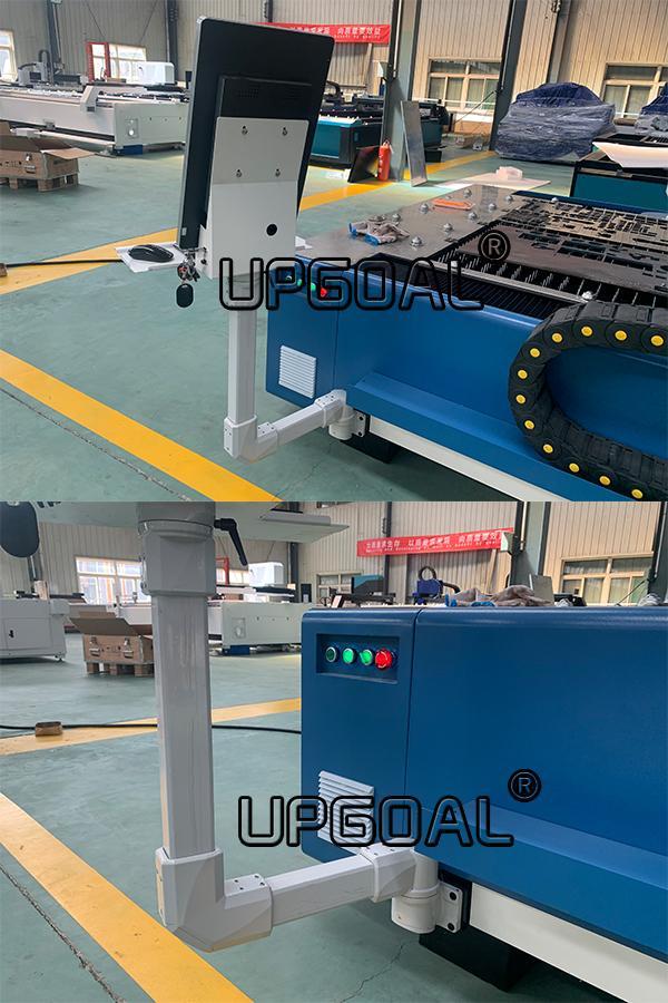 1000W/1500W Metal Fiber Laser Cutting Machine with RAYTools & CypCut Controller 16