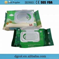 Wholesale organic baby tender baby wipes