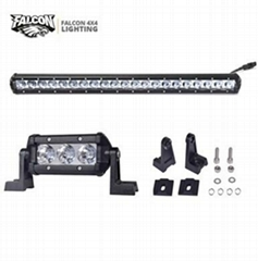 "23.5"" Inc CREE Chip 3W/LED  Single Row LED Light Bar for Offroad 4X4 Truck 4WD"