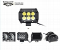 "Mini 4"" 18W Car Offroad LED Light Bar Working Light For Truck ATVS 1"