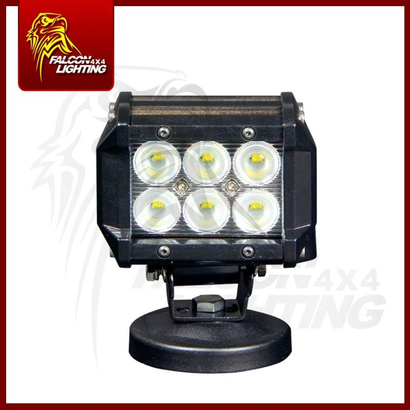 "Mini 4"" 18W Car Offroad LED Light Bar Working Light For Truck ATVS 3"