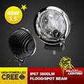 "Hot Sale 5.5"" 45W Hi-low Beam Car Offroad Truck LED Work Light Driving Lamp"