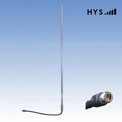0.8M 2.4G Omni Fiber glass wifi Antenna TCQJ-GB-10-2400V-1