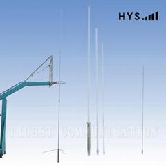 V/U Dual Band Triple-Segment Fiberglass Antenna
