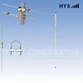 Double band Yagi antenna TCDJ-M-9.5/11-145/435VB