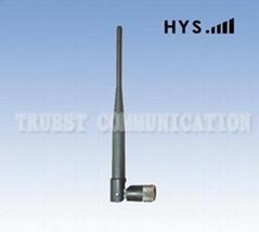 2.4Ghz rubber duck antenna TCQZ-WZ-3-2400V-2