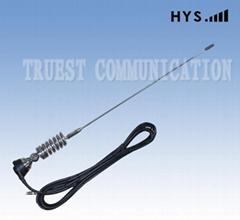 Mobile whip car antenna TCQC-BG-3.5-136V-A1