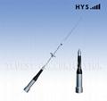 Mobile whip antenna TCQC-BG-2.15/3.5-144/430V-SG7000