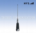 Mobile whip car antenna TCQC-BG-3.9-141V-IC144