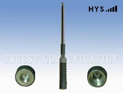 TWO WAY RADIO TELESCOPE ANTENNA TCQS-TCQS-JG-2.5-155-3 JG-2.5-155-3 (7SECTIONS)
