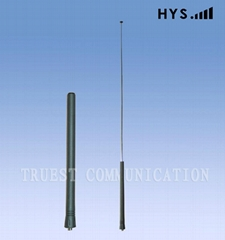 Dual band telescope rubber two way radio antenna TCQS-JG-2.5-155/435-669B