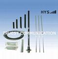 1/4 Wave Aluminium Alloy  Antenna TCQZ-JS-3-87V-1