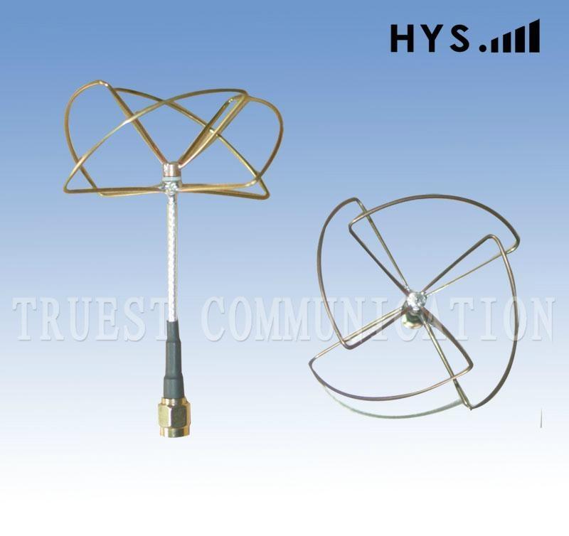 2.4G遥控飞机天线TCQZ-WZ-2.5-2400V-4(圆极化四瓣)直头1 1