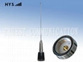 NMO Mobile Radio Stainess Steel Whip Antenna TCQC-BG-3-155V-N1A