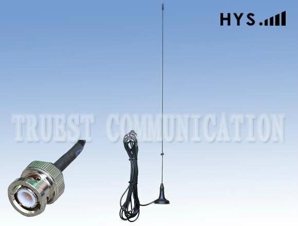 4.2CM Magnetic Dual Band Mobile Radio Antenna  TCQC-XX-2.15/3.5-145/435V-4.2
