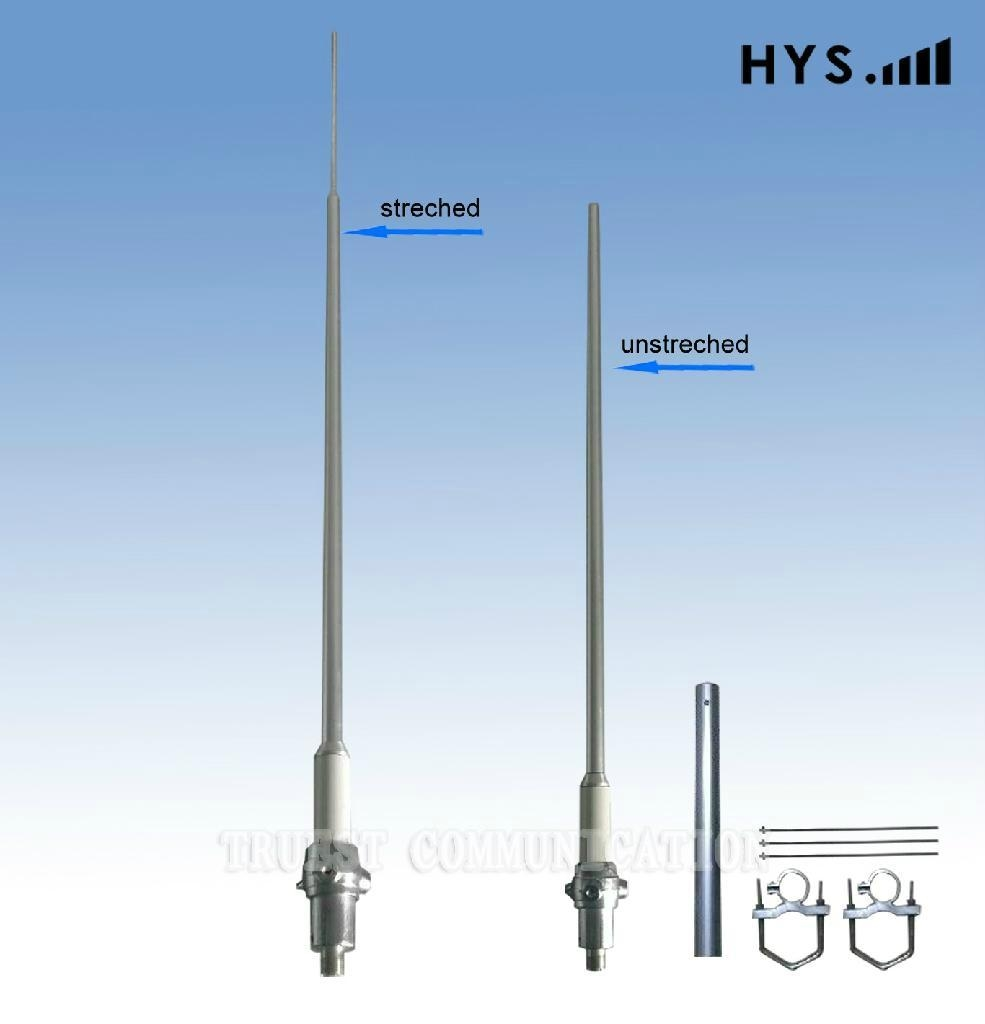 1.7M VHF Omni Expand And Contract Aluminun Alloy Antenna TC-CST-3.8-AV170