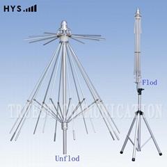 Wide Band Umbrella Anten