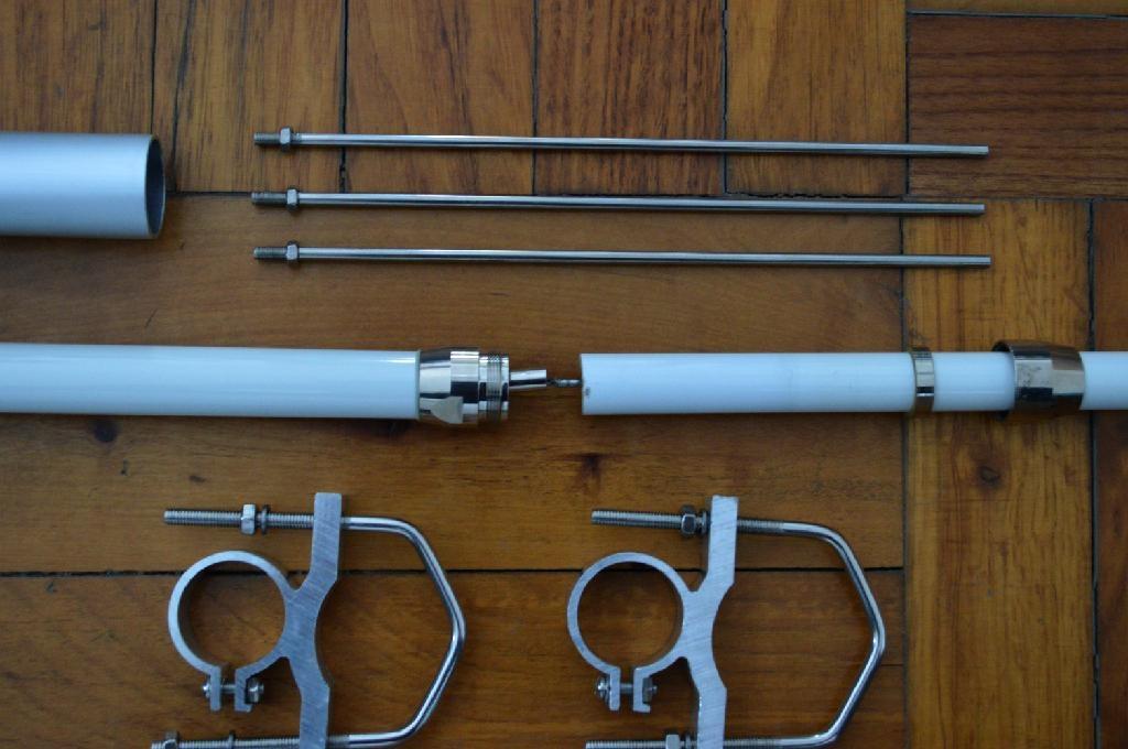 1 2m 2sections Dual Band Fiberglass Mobile Radio Antenna