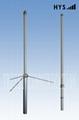 1.2M 2Sections Dual Band Fiberglass Mobile Radio Antenna TC-FG-144/430-3/5-T12