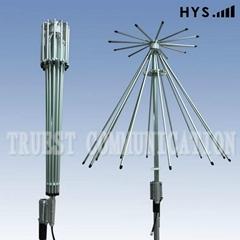 宽频伞形天线TC-WBUM10