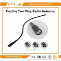 VHF&UHF Flexible Whip Antenna For