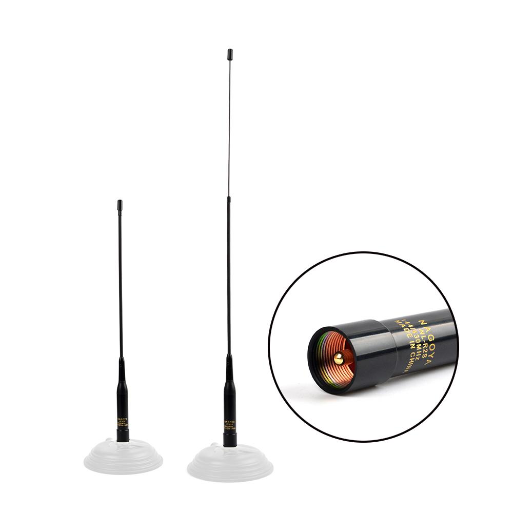 144/430MHz Telescopic Extension Tube (12.7in)–(19in) Antenna NL-R2L 1