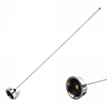 136-174MHz Amateur Antenna NMO Connector 18-inch 2 Meter VHF Mobile Antenna