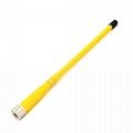 VHF&UHF 双频对讲机天线 FP671-Yellow