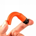 UHF VHF 144/430mHz Rubber Stubby HandHeld Antenna SF20 female-Orange