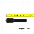 VHF&UHF 双频橡胶对讲机天线SF-20 Black 2