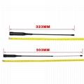 Dual Band  Extendable Flexible Whip Amateur Mobile Transceiver Car Antenna NL-R2
