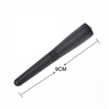 UHF 430-470MHz Walkie Talkie Stubby Antenna 3.5-in