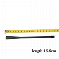 UHF 450-470MHz ATU-6D Rubber Whip 2-Way Radio Antenna 6.5-inch