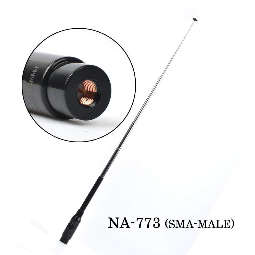 144 / 430 MHz VHF/UHF Dual Band NA-773  Walkie Talkie Antenna