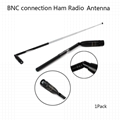 5-1100mHz Telescopic Folding Antenna Ham Radio Antenna
