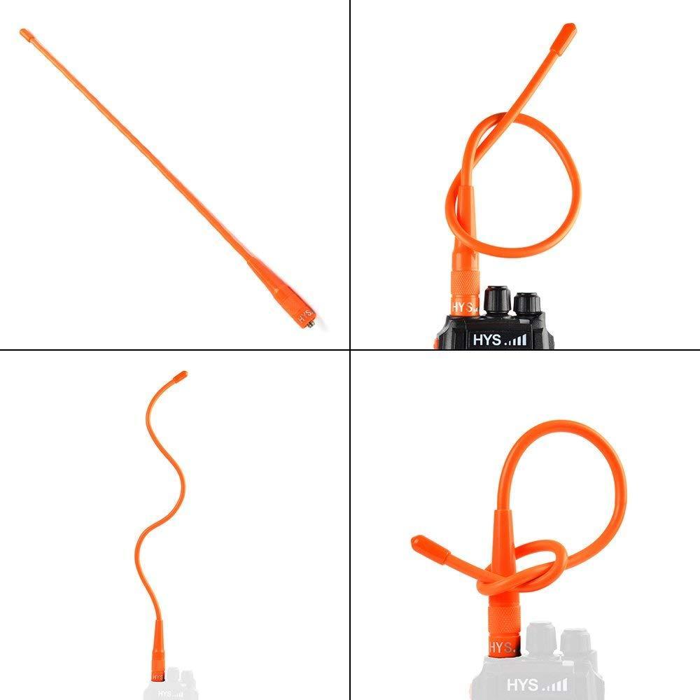 双频手持机天线 TC-RHF40 orange 10