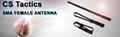 VHF/UHF   Foldable Dual Band SMA Female  CS Tactics Antenna  for Kenwood