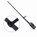 CS Tactical Foldable Antenna SMA Male 2M/70CM 144/430Mhz Portable Antenna