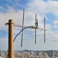 HYS UHF 100W Yagi 7 dBi UHF-Female Aluminum Alloy Antenna