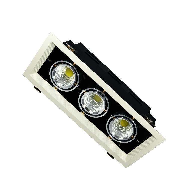 Modern Design Spot Lighting Quality Energy Saving LED Grille Spot Light 1