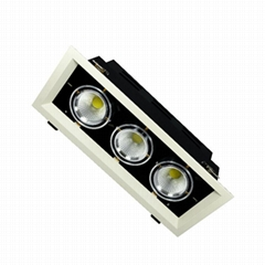 Modern Design Spot Lighting Quality Energy Saving LED Grille Spot Light