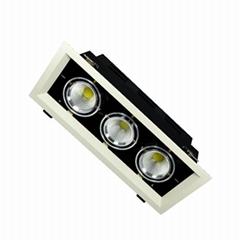 Modern Design Spot Lighting Quality Energy Saving LED Grille Spot Light