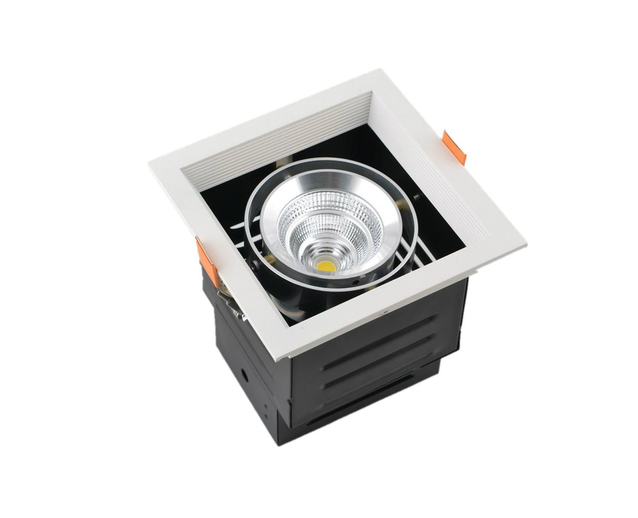 Modern Design Spot Lighting Quality Energy Saving LED Grille Spot Light 2