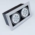 Modern Design Spot Lighting Quality Energy Saving LED Grille Spot Light 5