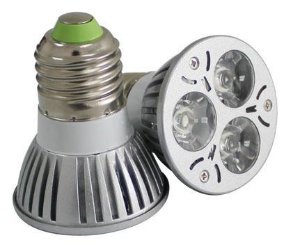 Quality High Brightness Energy-Saving E27/Gu10 Base LED Spotlight 2